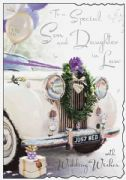 Special Son & Daughter in Law Wedding Day Card